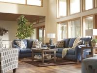 Janley Denim Living Room Set, 4380738, Ashley