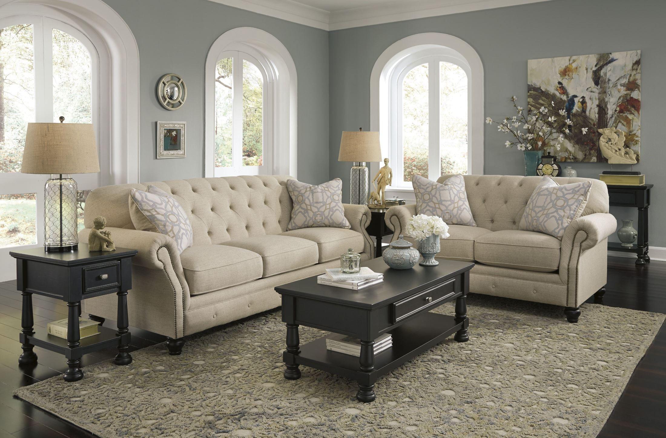 Kieran Natural Living Room Set from Ashley 4400038