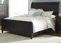 Hamilton III Black King Sleigh Bed from Liberty (441-BR ...
