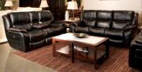 Beckett Black Reclining Living Room Set, 4511115208, Catnapper