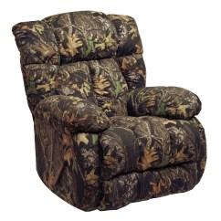 Camo Recliner Chair Threaded Glides Laredo Mossy Oak Rocker From Catnapper
