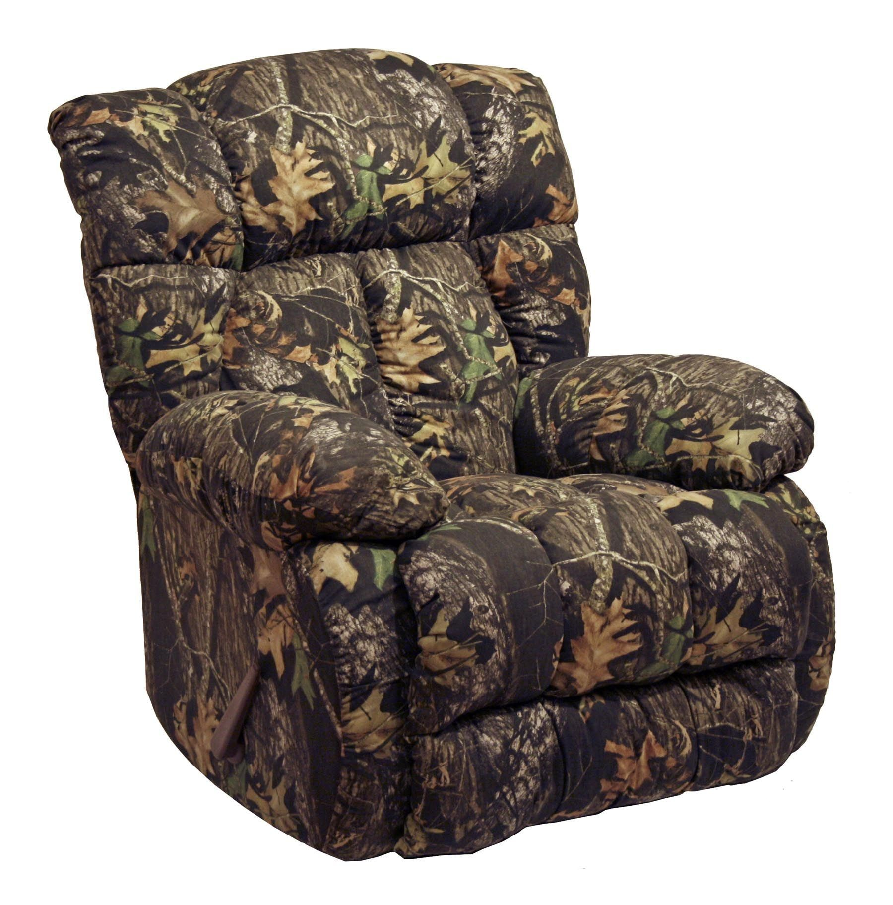 camo office chair chairs for waiting room laredo mossy oak rocker recliner from catnapper