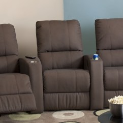 Theatre Room Chairs Electric Chair Execution Procedure Pacifico Leather Home Seating Psr 41920
