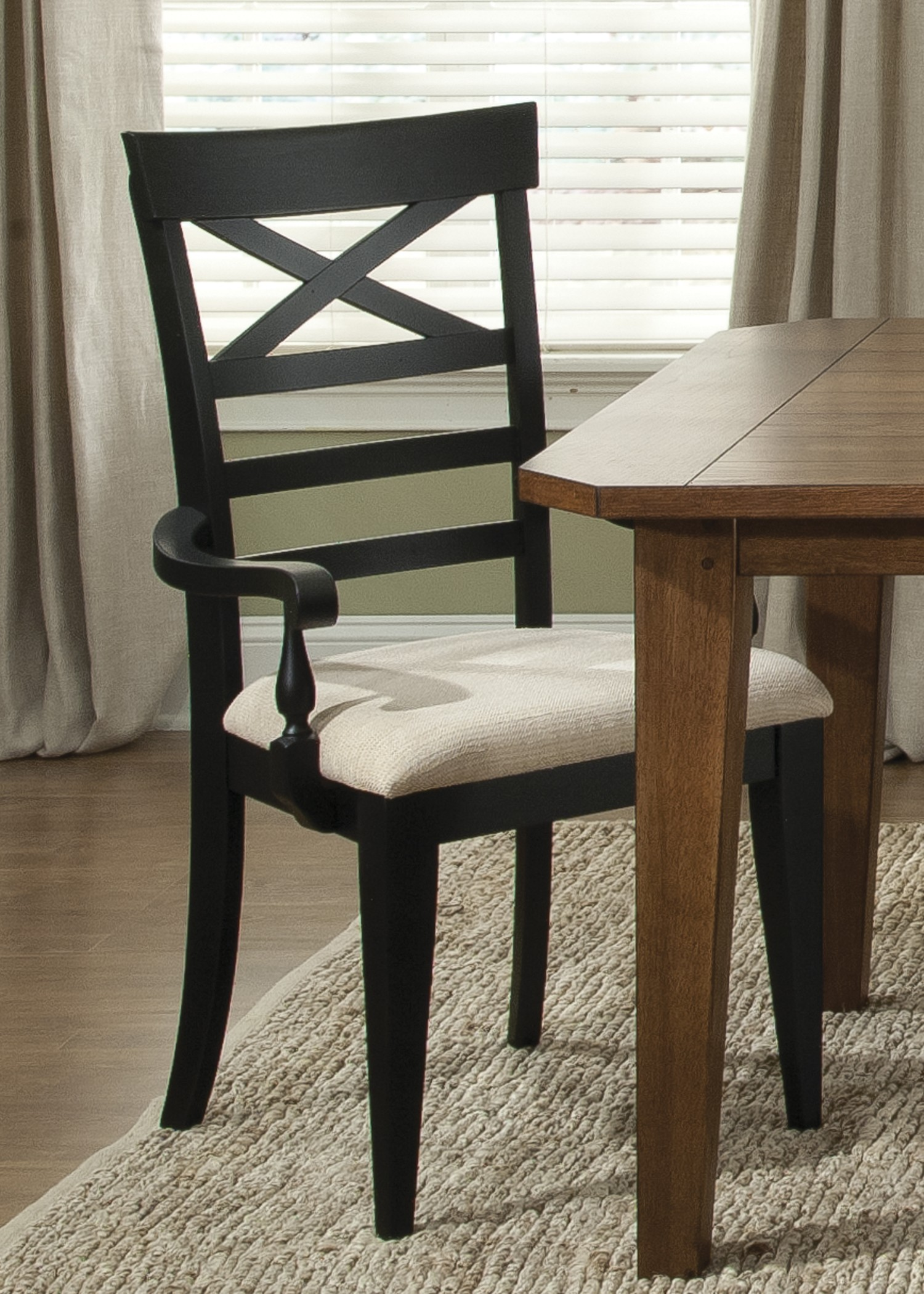 x back chairs swivel chair dimensions hearthstone black arm from liberty 482