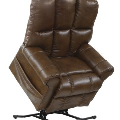 Lift Recliner Chairs Medicare Swivel Office Chair Stallworth Chestnut Bonded Leather Power