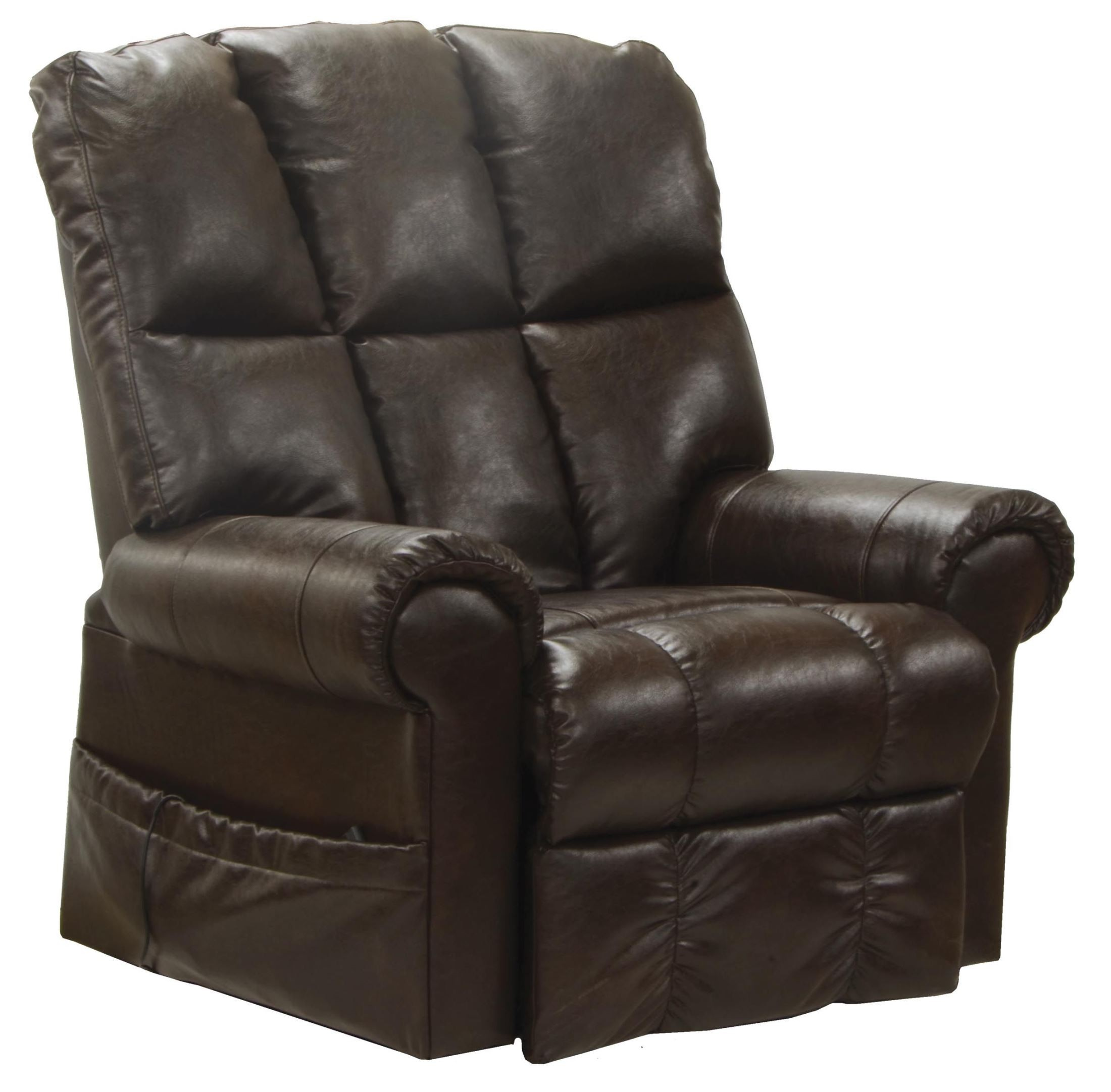 lift chairs walmart lifeguard chair plans stallworth godiva bonded leather power recliner from