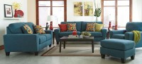 Sagen Teal Living Room Set from Ashley (9390238)