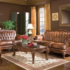 Traditional Sofa Sets Living Room King Coleman Furniture Victoria Set 50068 By Coaster