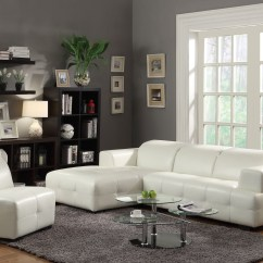 Coaster Bachman Sofa Reviews Large Bean Bag Darby White Sectional From 503617 Coleman
