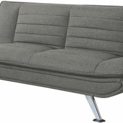 Grey And White Sofa Bed Blumen Viesso From Coaster Coleman Furniture