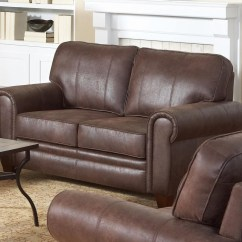 Bentley Leather Sofa Reviews Cameron Roll Arm Slipcovered Brown Loveseat From Coaster 504202 Coleman