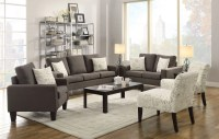 Bachman Grey Living Room Set from Coaster (504764 ...