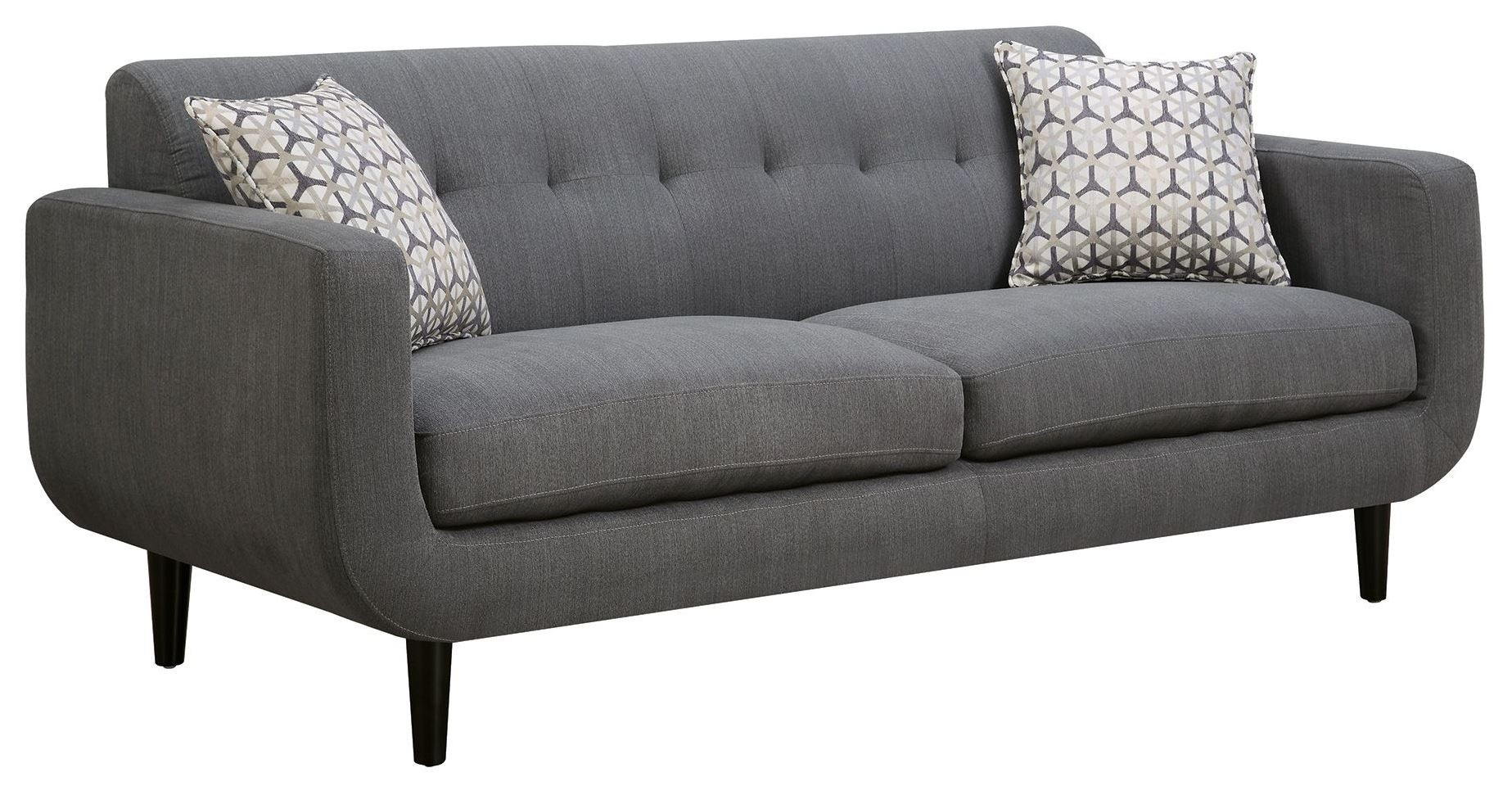 grey sofas aspen sectional leather sofa with ottoman stansall from coaster 505201 coleman furniture