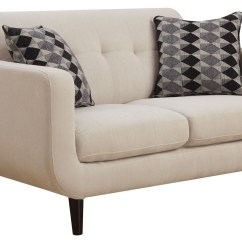 Ivory Sofa Set Envelope Cushion Cover Stansall Living Room From Coaster 505204