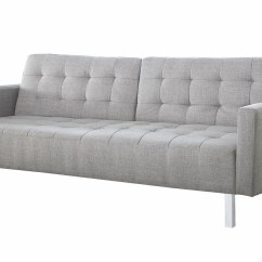 Light Sofa Bed Curved Corner Grey From Coaster Coleman Furniture