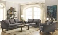 Rhys Dark Grey Living Room Set from Coaster | Coleman ...