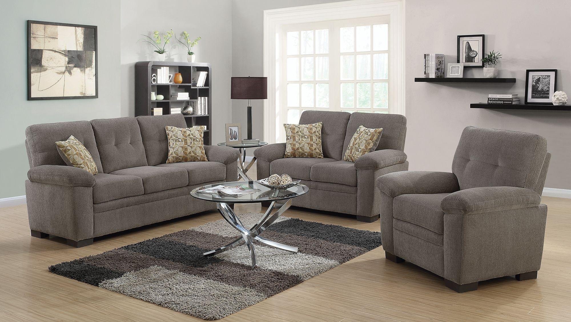 oatmeal sofa set leather conditioner india fairbairn living room 506581 82 coaster