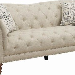 Oatmeal Sofa How To Reupholster A Leather Josephine From Coaster Coleman Furniture