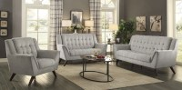 Baby Natalia Dove Gray Living Room Set from Coaster ...