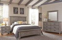 Cassel Park Weathered Gray Plank Bedroom Set from Virginia ...