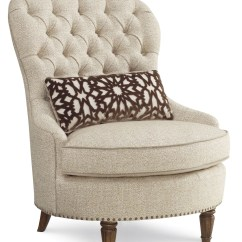 Tufted Accent Chairs Wicker Chair And Ottoman Set Collection One Upholstered From Art