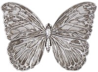 Antique Silver Butterfly Wall Art from Howard Elliott