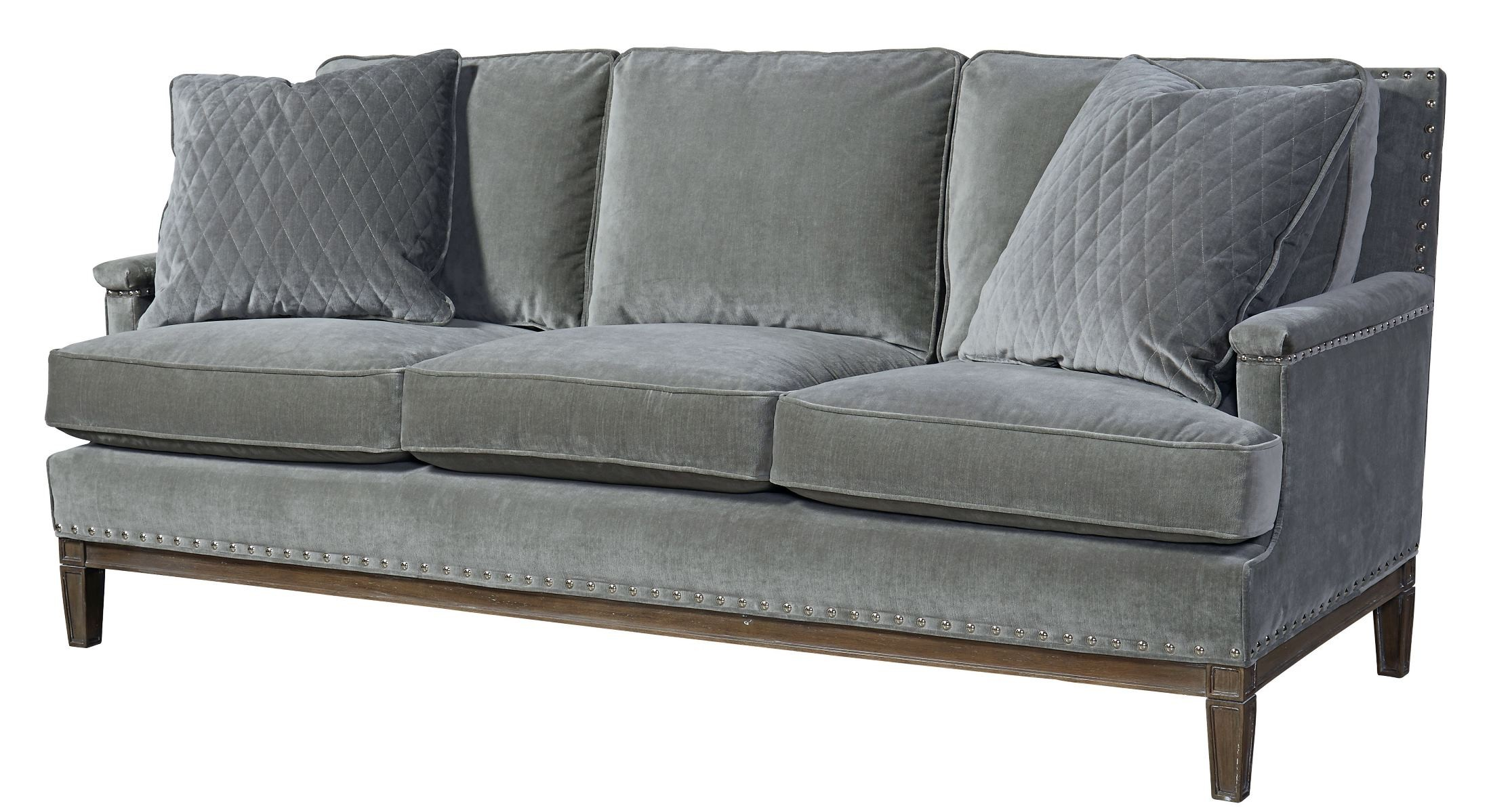 velvet grey sofa homelegance novak black elegant lounger with pull out trundle prescott gray 530501 200 universal