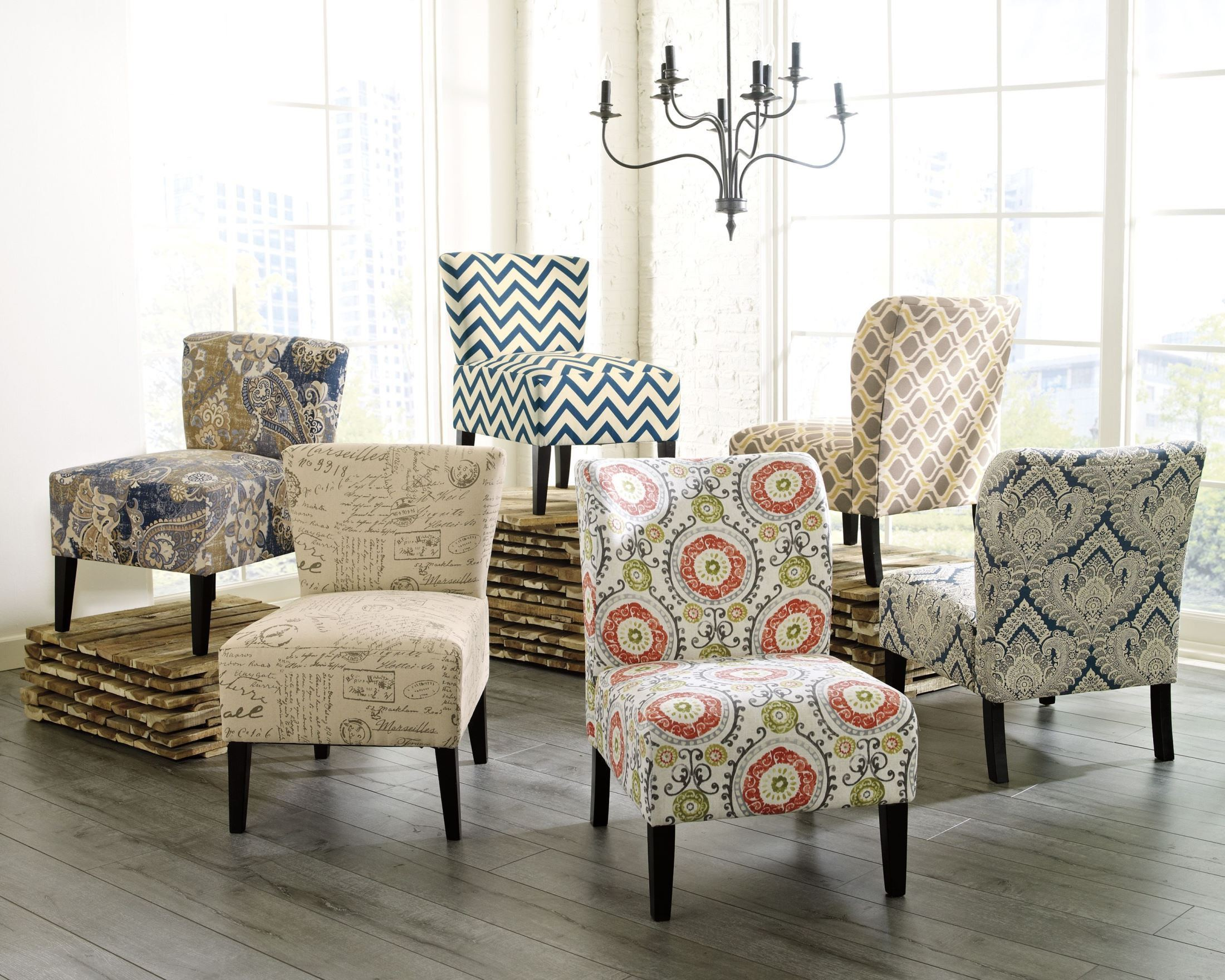Floral Chairs Honnally Floral Accent Chair From Ashley 5330260