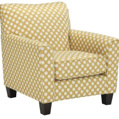 Accent Chair Yellow Bungee Papasan Brindon From Ashley 5390121