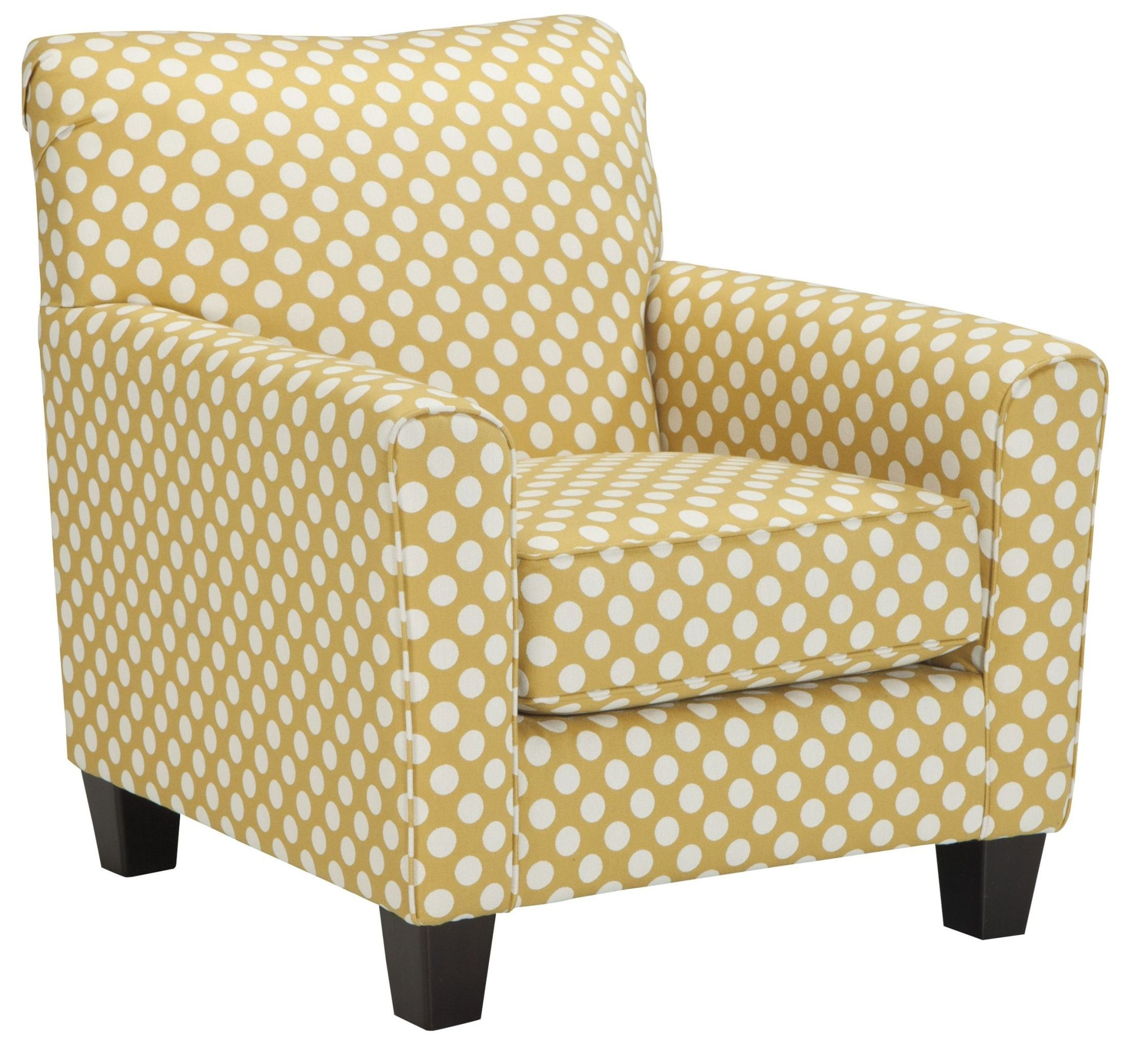 Yellow Side Chair Brindon Yellow Accent Chair From Ashley 5390121