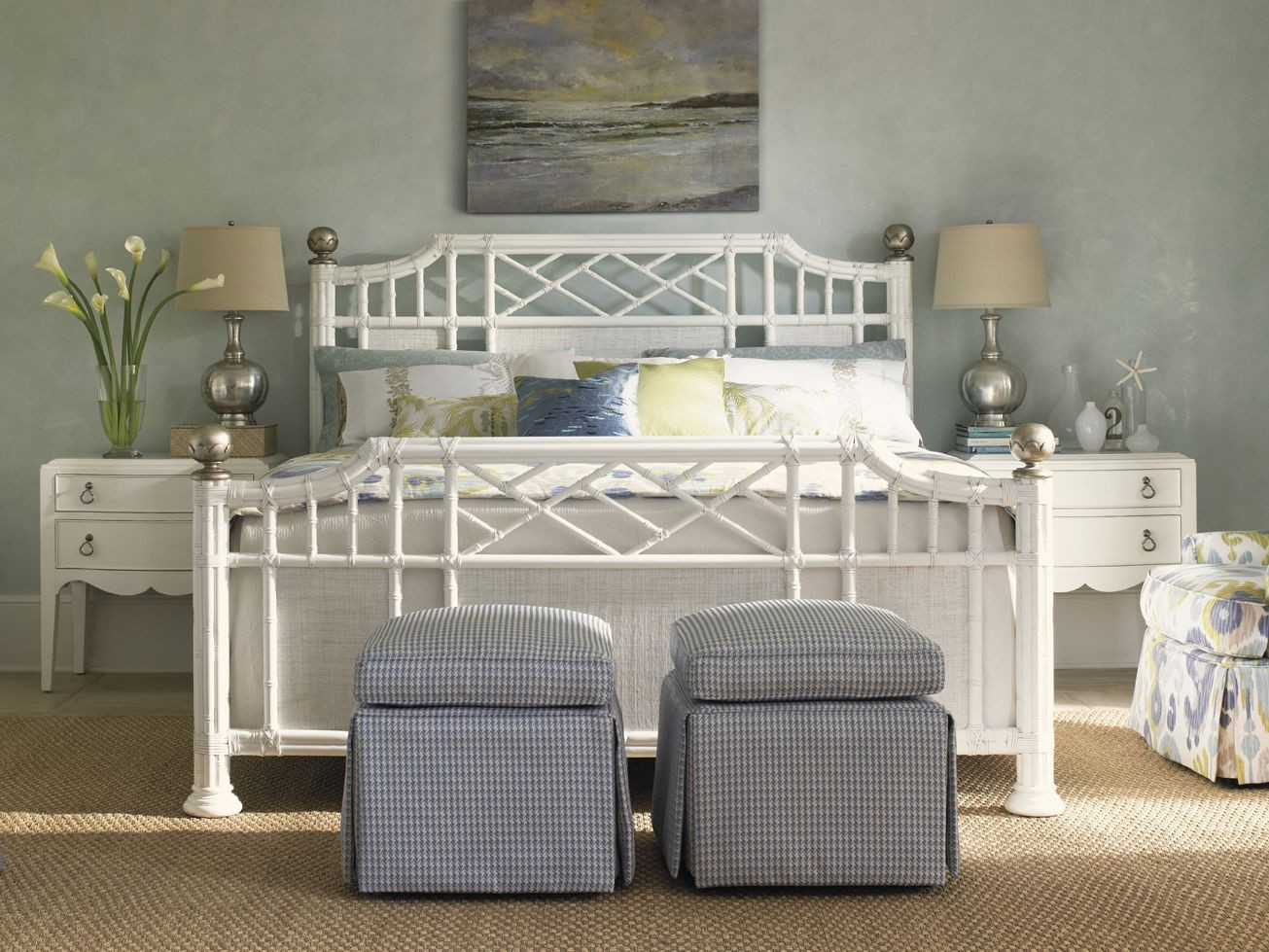 Ivory Key Pritchards Bay Panel Bedroom Set from Tommy