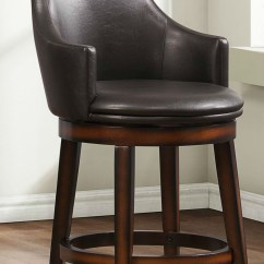 Tall Swivel Chair Massage Topper Bayshore Pub Height Set Of 2 From Homelegance
