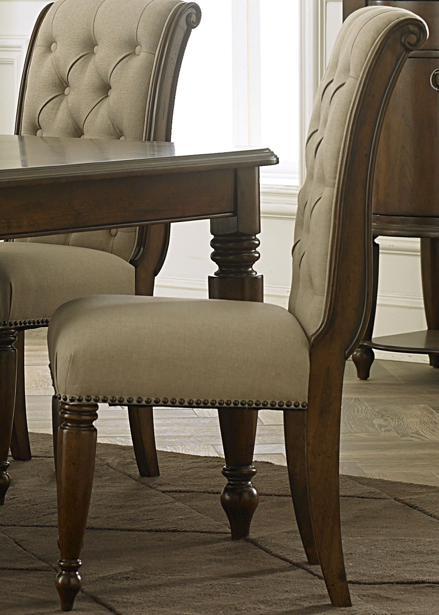 Upholstered Side Chairs Cotswold Cinnamon Upholstered Side Chair Set Of 2 From