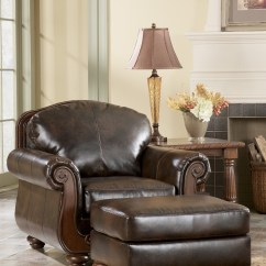 Barcelona Sectional Sofa Ottoman Under Storage Antique Living Room Set From Ashley 55300
