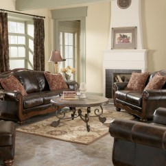 Barcelona Chair Style Couch Disposable High Cover Singapore Antique Sofa From Ashley 5530038 Coleman