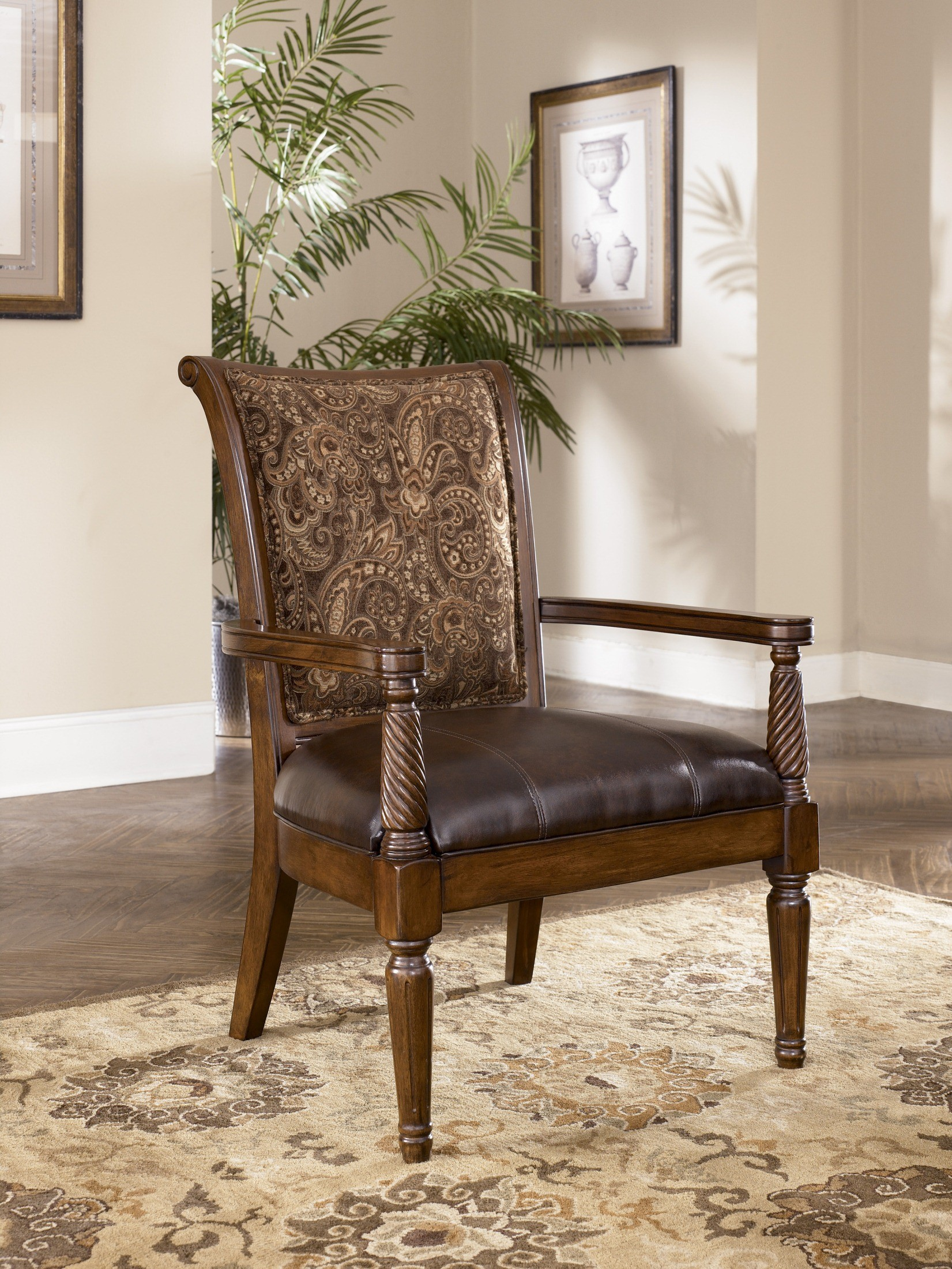 barcelona chair style couch folding covers hobby lobby antique living room set from ashley 55300