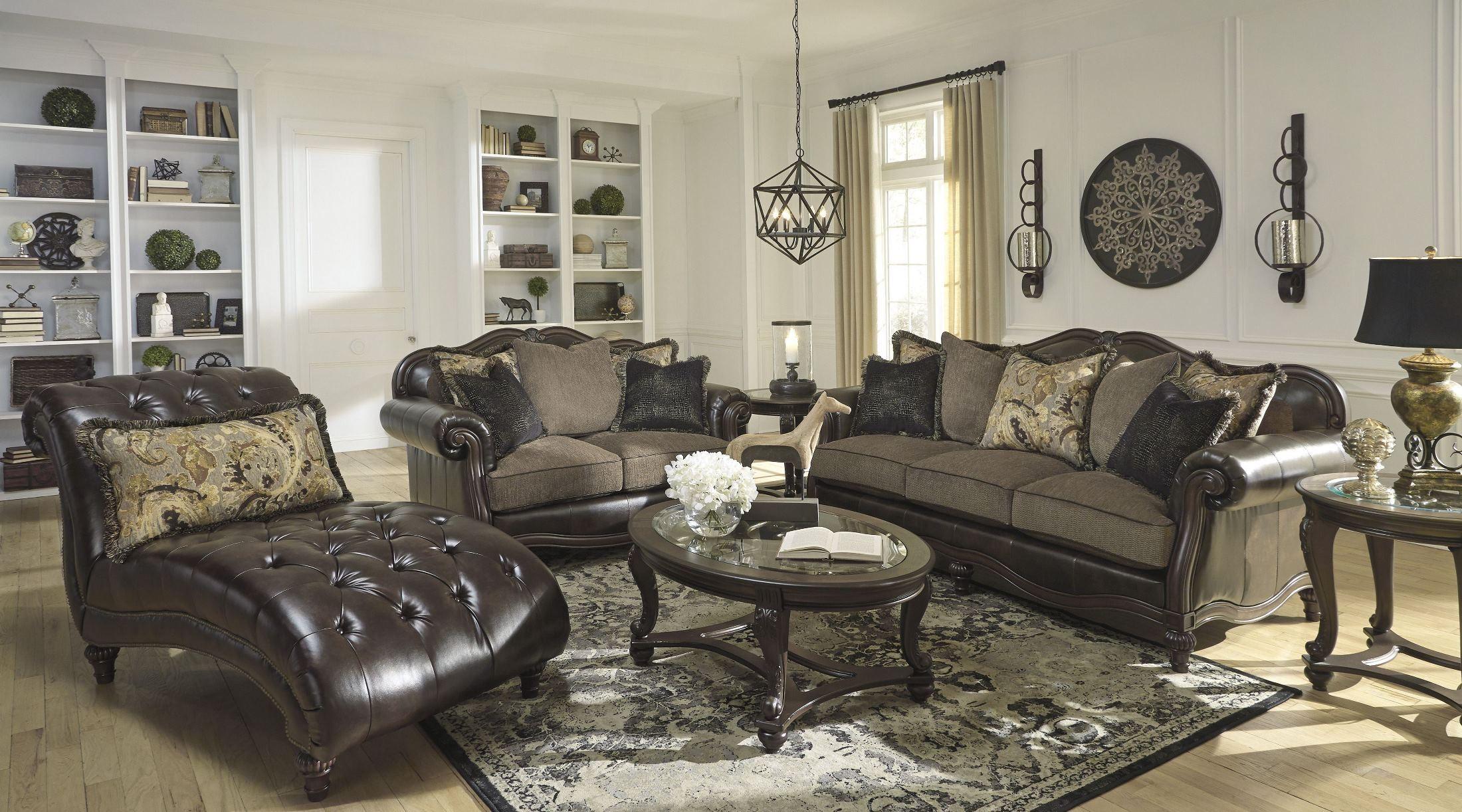 Winnsboro DuraBlend Vintage Living Room Set 5560238 Ashley