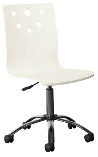 Smiling Hill Marshmallow Desk Chair from Stone and Leigh