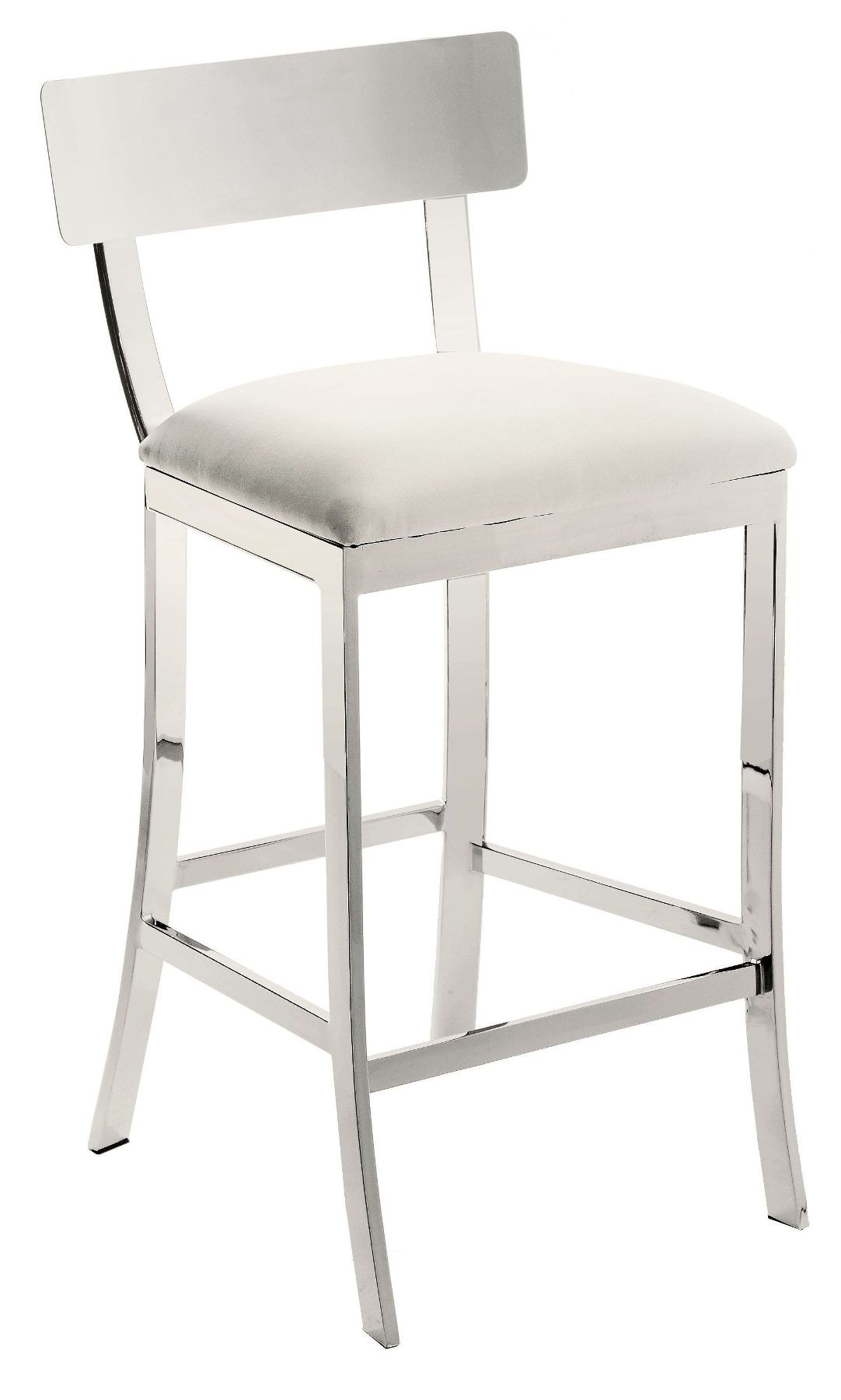 White Counter Height Chairs Maiden White Counter Stool From Sunpan 56336 Coleman