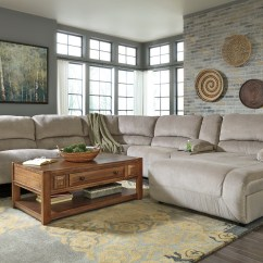 Corner Sofa With Recliner And Chaise Cerro Largo Fc Canadian Sofascore Toletta Granite Raf Reclining Sectional From Ashley ...