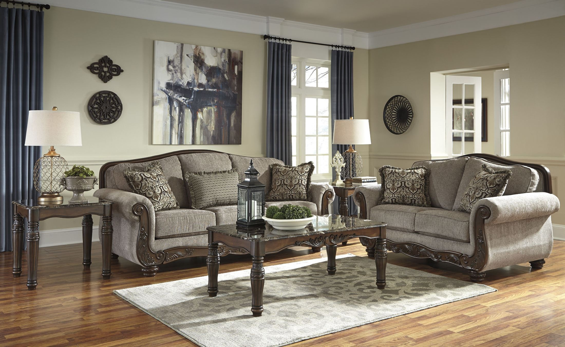 Cecilyn Cocoa Living Room Set From Ashley 5760338