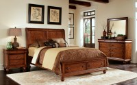 Rustic Traditions Sleigh Storage Bedroom Set from Liberty ...