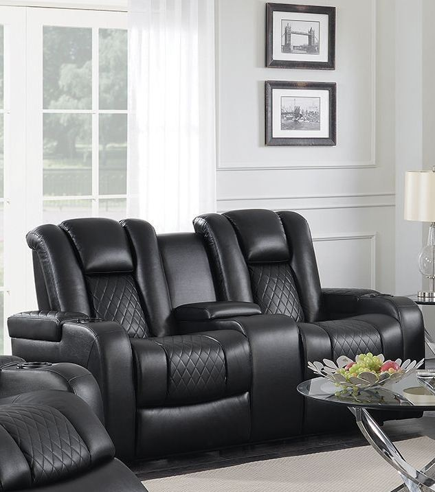 alessandro leather power motion sofa reviews u love pasadena review delangelo black loveseat from coaster coleman reclining 2396299