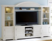 Summer House Oyster White Entertainment Wall Unit from ...