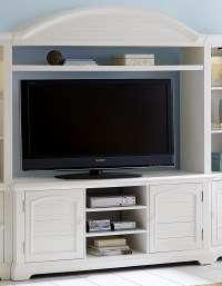 Summer House Oyster White Entertainment Center from ...