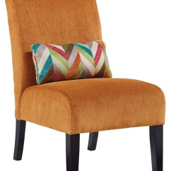Accent Chair Orange Chaise Lounge Outdoor Annora From Ashley 6160260 Coleman