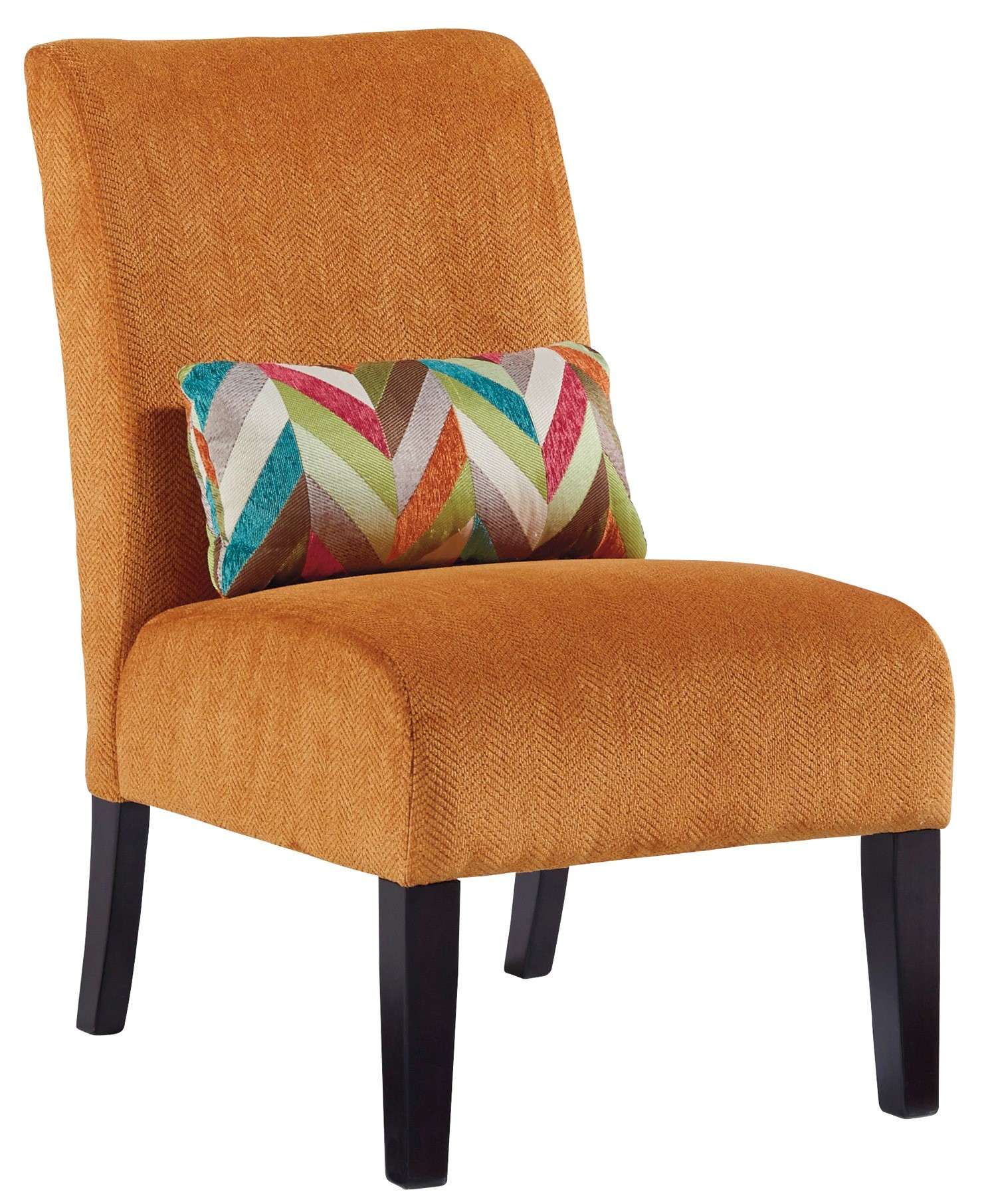 Orange Accent Chairs Annora Orange Accent Chair From Ashley 6160260 Coleman