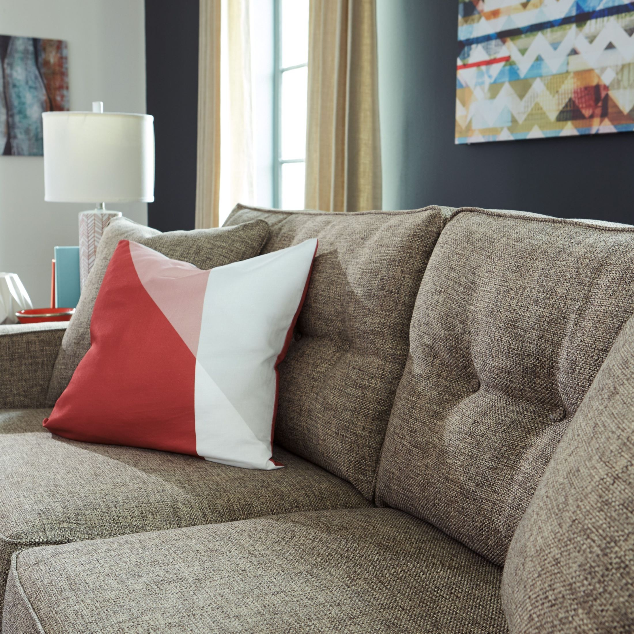 ashley sofa sale single seater corner dahra jute from   coleman furniture