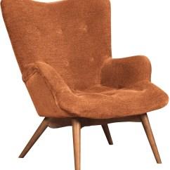 Orange Side Chair Zero Gravity For Back Pain Pelsor Accent 6340361 Ashley