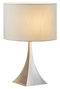 Luxor Steel Table Lamp from Adesso (6363-22) | Coleman ...